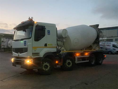 New Actros fuel testing