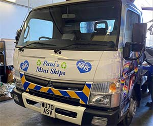 PTO retrofitting to Fuso canter